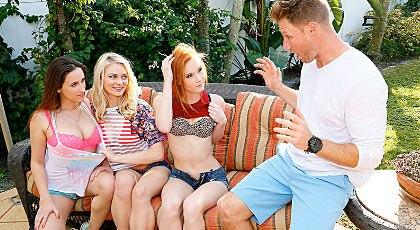 Las tres amigas de mi hermana