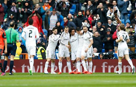 Real Madrid C.F. - Real Sociedad S.A.D. 4:1