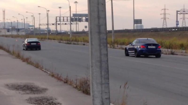 17-10-2015 Тесты BMW M3 vs BMW135 700hp