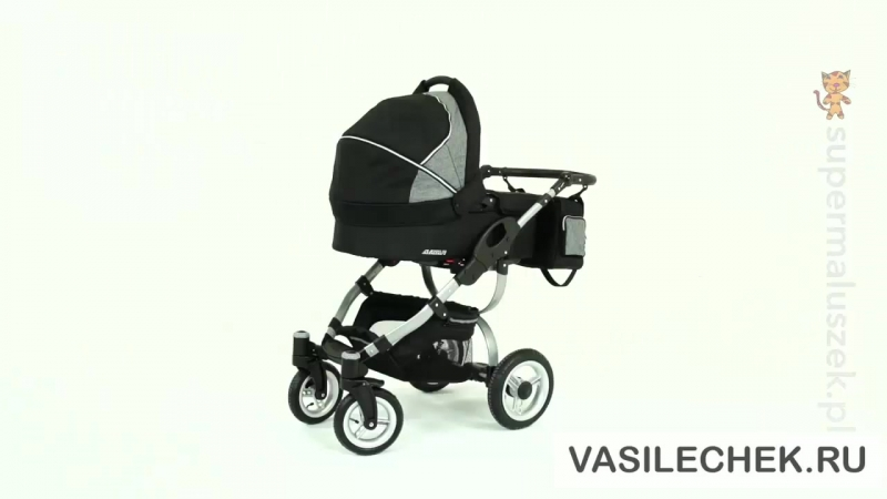 Reindeer City Cruise 3 в 1 видео обзор vasilechek.ru детская универсальная модульная коляска 2 в 1 Германия-Польша