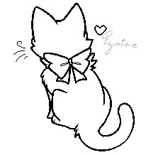 картинки коты-воители манекены