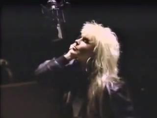 Ozzy Osbourne and Lita Ford,
