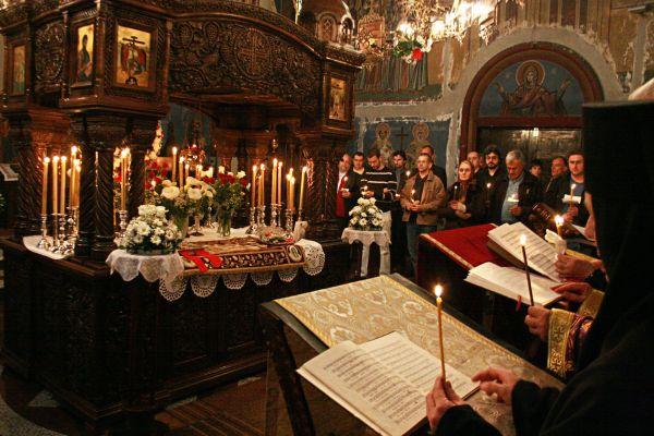 Велики Петак у манастиру Ваведењу 2011. године