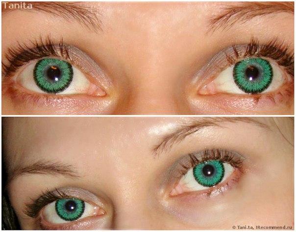 фото изумрудный цвет глаз
