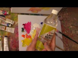 Олег Буйко. Разбавитель в масляной живописи, или чем разбавлять масляные краски. Советы начинающему художнику