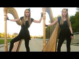 IT'S MY LIFE (Bon Jovi) Harp Twins - Camille and Kennerly HARP ROCK