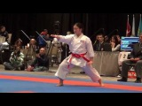 PKF 2015 - Female Kata FINAL - Kokumai vs. Dimitrova