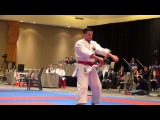 PKF 2015 - Male Kata FINAL - Diaz vs. Casanova