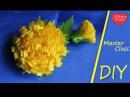 The Dandelion of Ribbons / Одуванчик из Лент/ kanzashi tutoria
