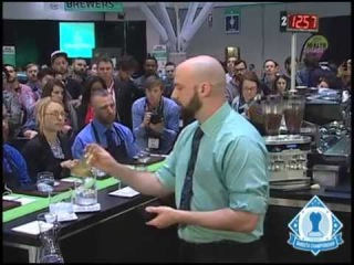 1st place -- Pete Licata of Parisi Coffee in Kansas City, MO -- (Total points 617)