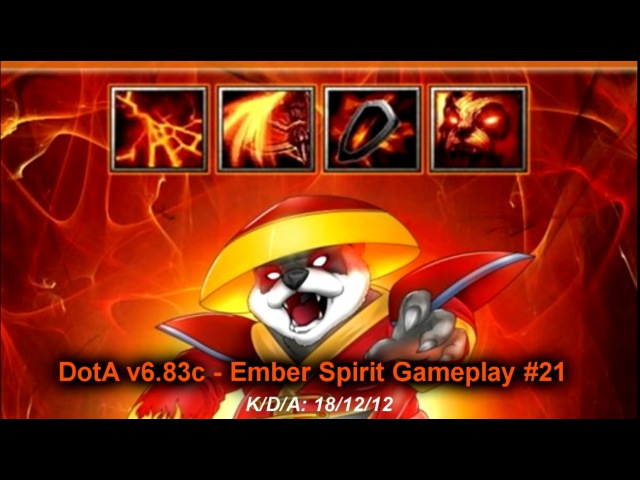 DotA v6.83c - Ember Spirit Gameplay 21