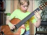К Элизе - вот так дети играют на гитаре