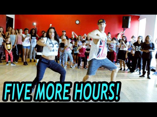 FIVE MORE HOURS - Chris Brown Deorro Dance   @MattSteffanina Choreography (Beg/Int Hip Hop)