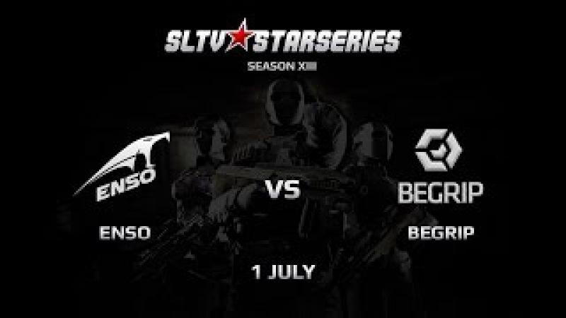 BeGrip vs TM.ENSO [SLTV Season XIII, Playoffs 1 map] @dc