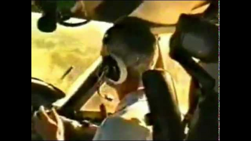 Полет Ан-12 в Африке на ПМВ [OST: Deep Purple - Highway star]