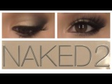 Shimmery &amp Smokey Eye Naked 2 Tutorial