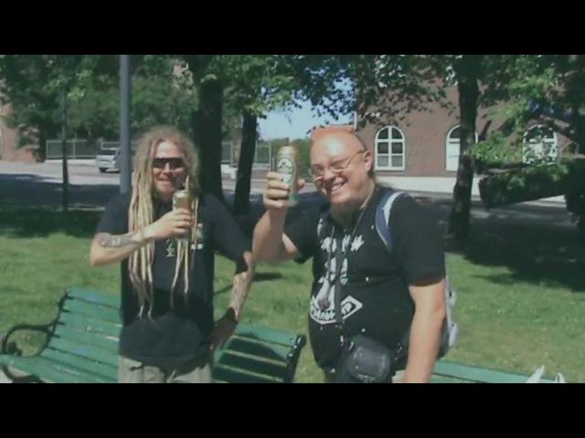Jonne Järvelä(Korpiklaani)Тролль Гнет Ель- Humppa Is My Neighbour