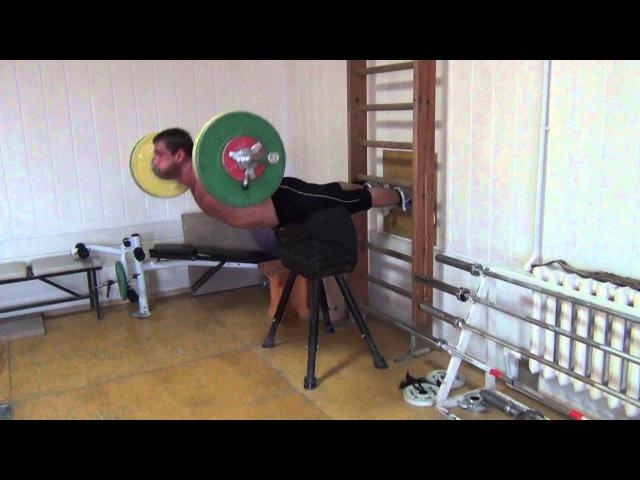 Klokov Dmitry - Specially exercise for BACK