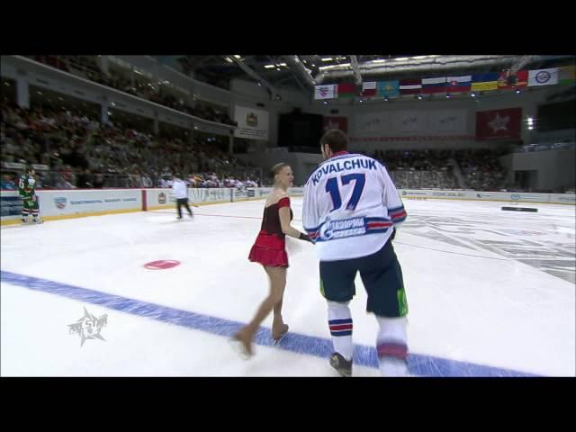KHL All Star: Фигурное катание от Ковальчука и Морозова