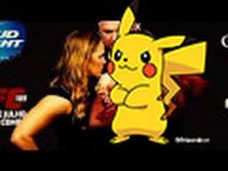 Ronda Rousey Pikachu Highlight Video - 2015