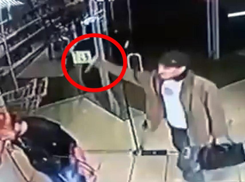 В одном из супермаркетов Ростовской области посетитель вонзил нож в горло мужчины. ВИДЕО 18+