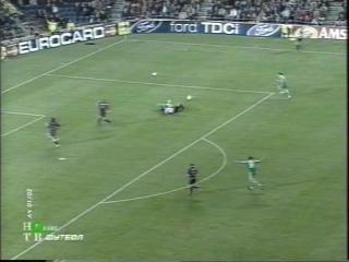 ЛЧ 2001-02. 1-4 финала. Ответный матч. Барселона - Панатинаикос 3 часть