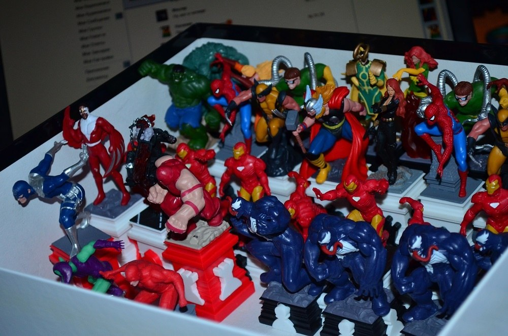 Супергерои Marvel Шахматный курс - График Выхода и обсуждение