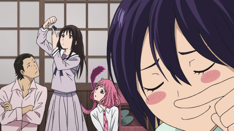 [Anideshka] Noragami Aragoto - 1 серия (Hikuro, Nyaru, Baskion, Soul, niKadOn)