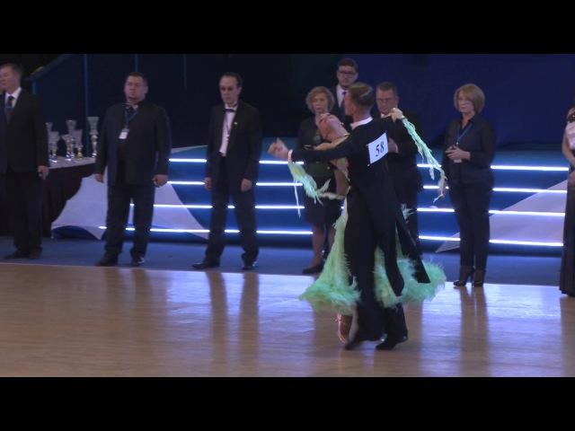 Жарков Дмитрий - Куликова Ольга, Полуфинал, English waltz