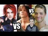 Gerard Way vs Misha Collins (+ Jared Padalecki)