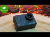 ✔ SJCAM SJ5000 Plus 1080 60fps Video test. Head, Hand, Car Mount. Gearbest