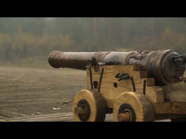 В Швеции дали залп из точной копии пушки XVII века новости