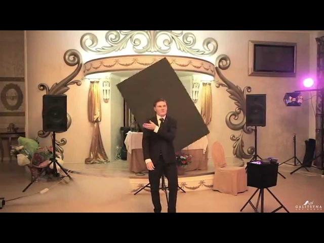 Звёздное шоу от танцующего художника на свадьбе. Galitsyna Art Group
