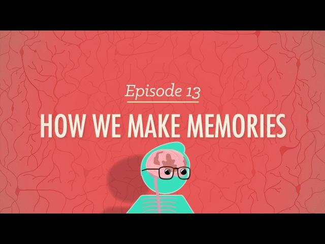 How We Make Memories - Crash Course Psychology 13