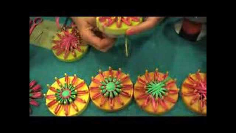 Vintage Flower Looms - CRAFT Video Podcast