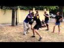 ножевой бой классика блок-удар