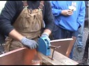 Making a Curved Double Lock Standing Seam Copper Roof