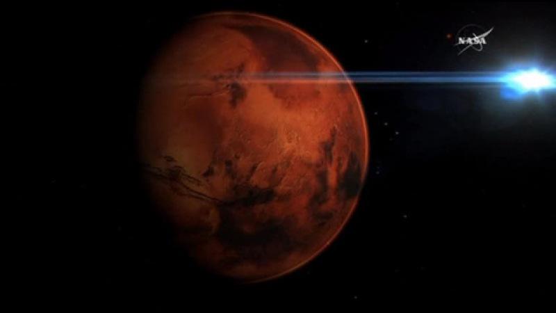 Погода 24 покорителей Марса ждут фонтаны углекислоты и песчаные дьяволы