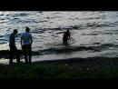 Во мужик рыбалка наспех