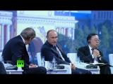Вопросы Путину на Петербургском международном экономическом форуме 2015