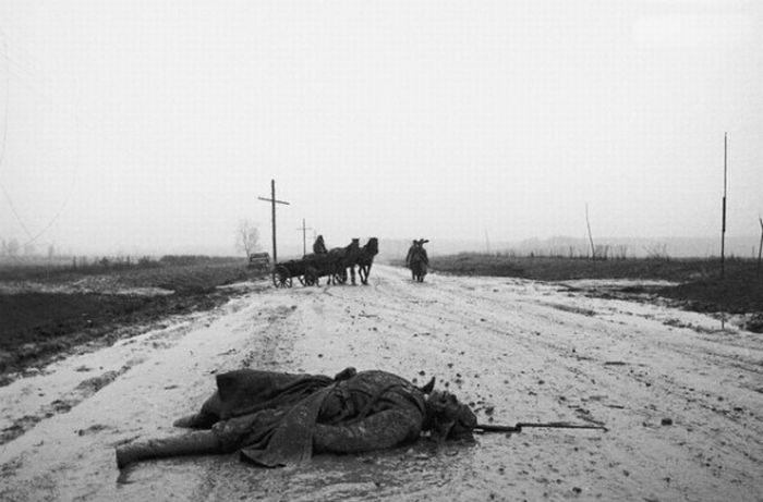 Дмитрий Бальтерманц (1912-1990) Зимняя дорога. 1941 Из собрания МАММ/МДФ