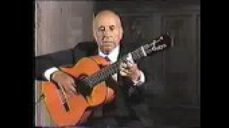 Rare Flamenco Guitar Video: Carlos Montoya - Farruca