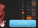 Как работать с DynaMesh и кистями Mesh Insert в ZBrush 4R2