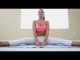 Full Body Stretching workout,Flexible Girl, Take A Stretch With Girls In Yoga Pants
