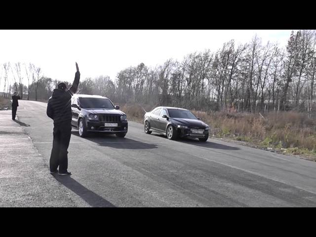 Mazda 6 MPS GTX3076 vs Jeep Cherokee SRT 8 402m