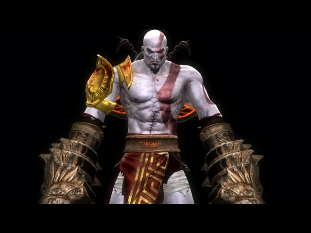 Mortal Kombat Komplete Kratos Fatalities on Mileena 1080p