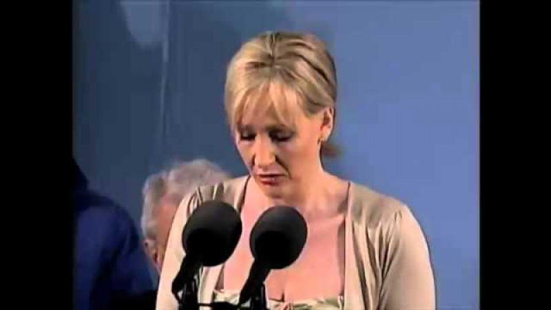 J.K. Rowling Speaks at Harvard Commencement.