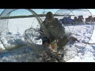 Зимняя рыбалка сетями. Финлйндия, Сайма