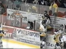 Link Gaetz vs Jason Hamilton penalty box rumble LNAH