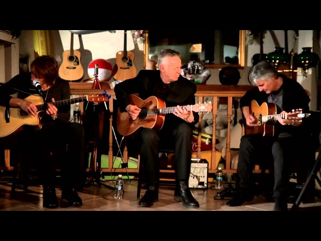 Richie Sambora Tommy Emmanuel and Laurence Juber Play un plugged